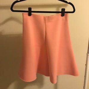 Zara pink fall/winter skater skirt